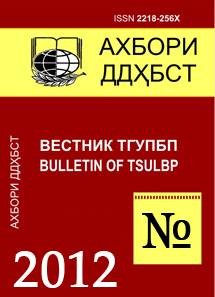 Ахбори ДДҲБСТ - 2012